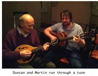 Duncan and Martin
